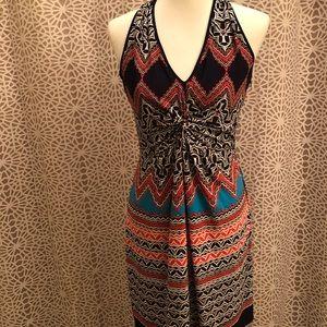 Laundry By Shelli Segal Vibrant Chic Printed Dress